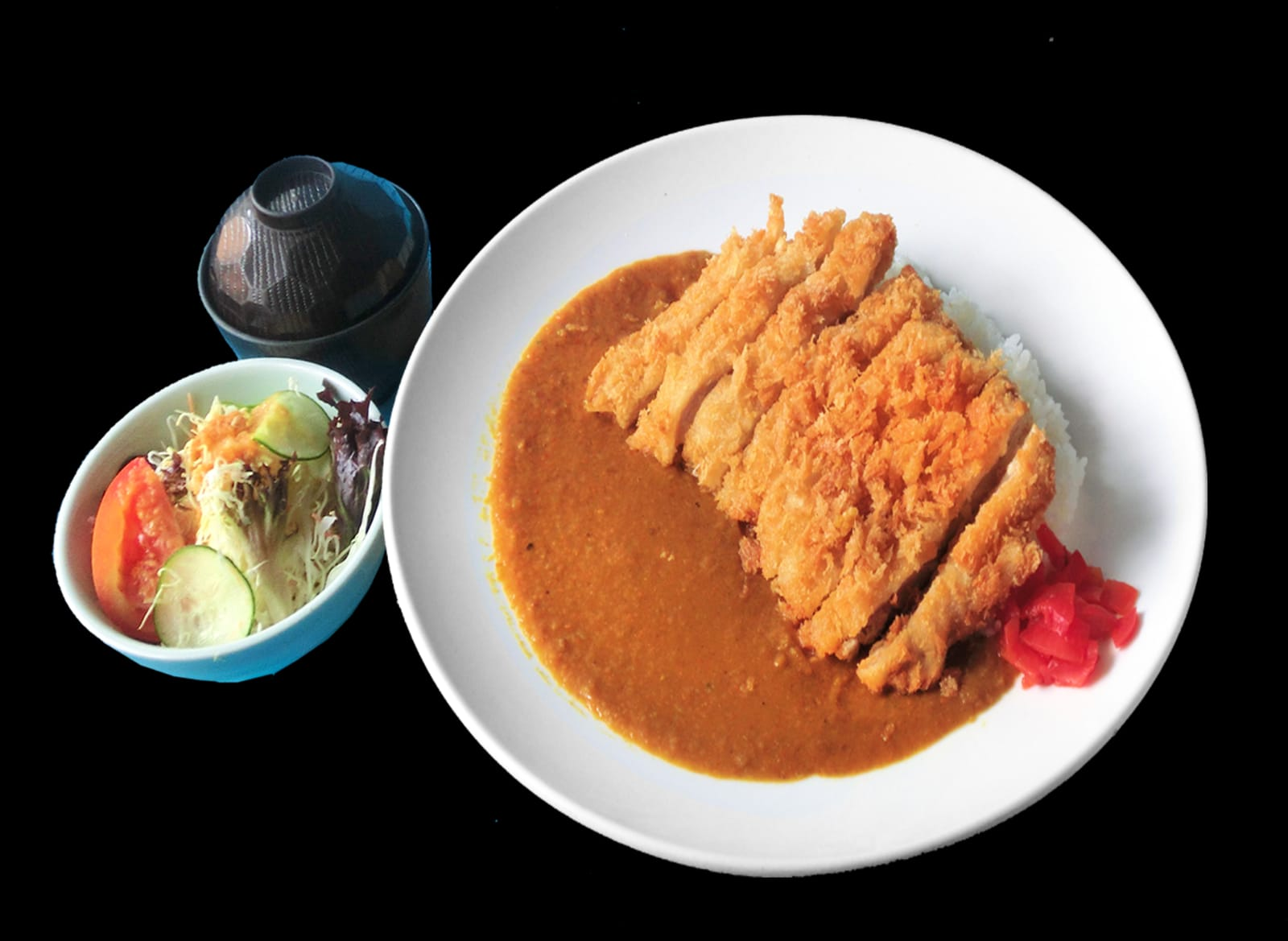 Chicken or Pork Katsu Curry